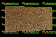 Plaque de liège naturel poncée dense isolante ALSACORK