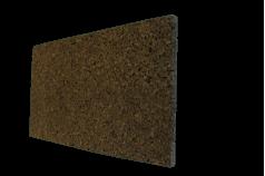 Plaque de liège expansé bord droit 0,50m x 1m - ALSACORK