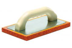 Taloche gomme orange pour enduit traditionnel Gamme Pavan