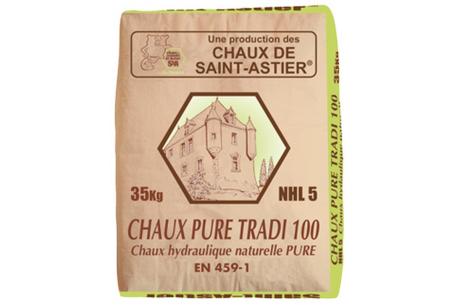 Chaux hydraulique NHL 5 Saint Astier Pure tradi 100
