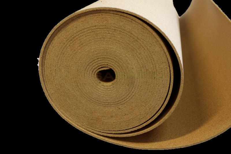 Rouleau de li ge sous couche isolante haute densit for Sous couche liege 4mm