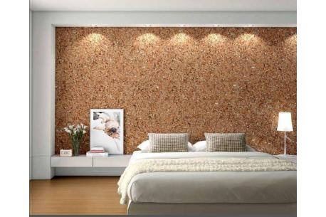 Dalle à coller en liège pour décoration murale en liège (pas de minimum)