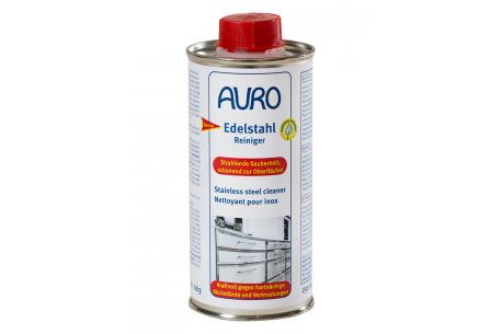 Nettoyer de l'inox avec le nettoyant 0,5L Auro 663