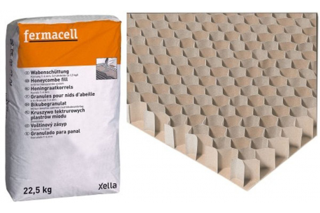 Granules pour nids d 39 abeille 1 4mm fermacell alsabrico for Fermacell sol prix