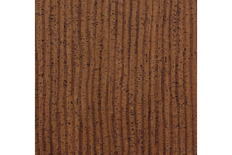 Parquet en liège, dalles en pose collée dans un salon