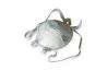 Demi-masque filtrant avec coque pour protection respiratoire