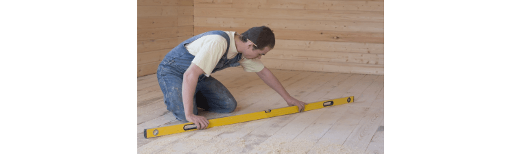 Niveler un ancien plancher
