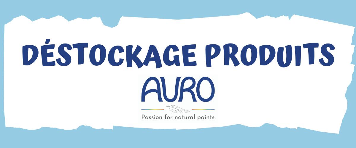 Déstockage des produits AURO