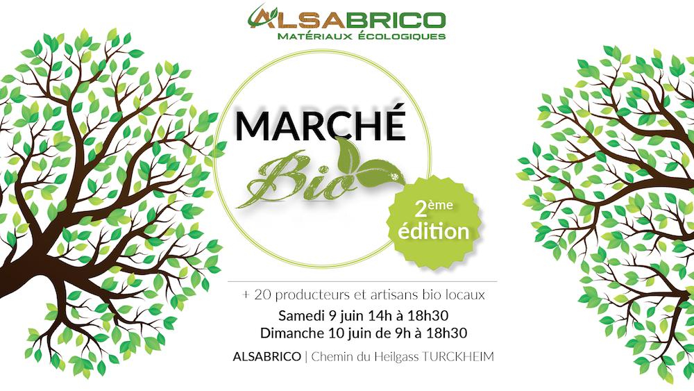 Marché Bio d'Alsabrico : 2ème édition
